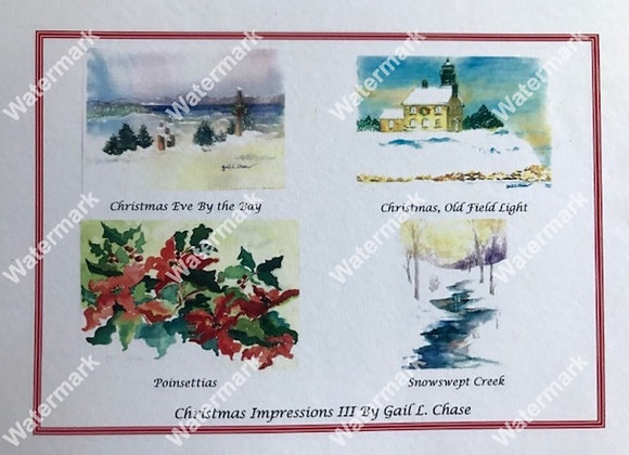 Christmas Impressions III Card Box