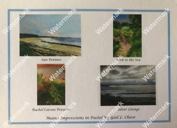 Maine Impressions Card Box