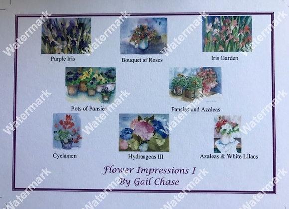 Flower Impressions I Card Box
