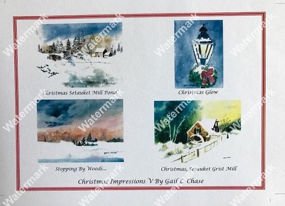 Christmas Impressions V Card Box