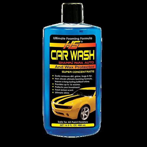 HS CAR WASH AND WAX PROTECTOR