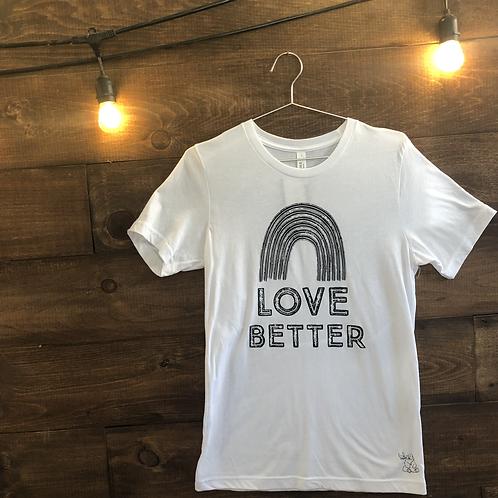 Love Better Adult T-Shirt