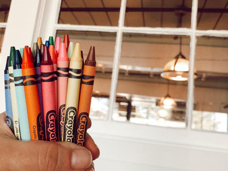 Bouquets of Sharpened Crayons