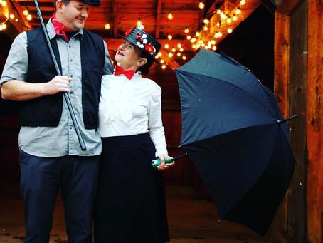 My Mary Poppins' Umbrella & Satchel