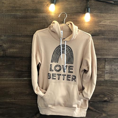 Love Better Adult Hoodie Sweatshirt