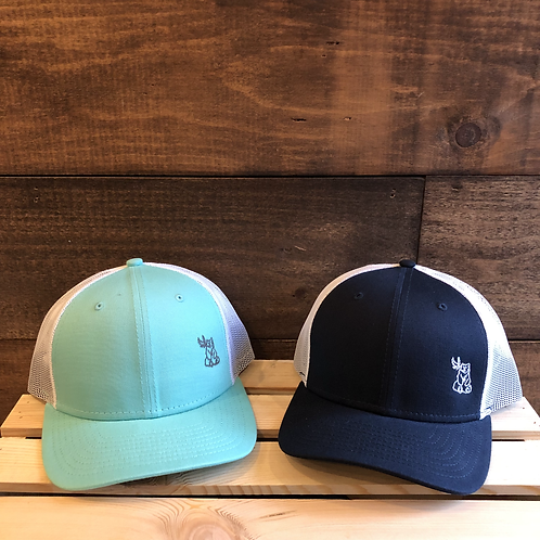 Bird & Bear Trucker Hat (Embroidered)