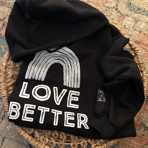 Love Better Adult Hoodie Sweatshirt