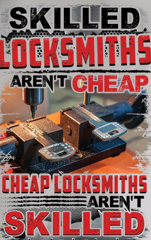 Open-Sesame Lockmiths spend re-invest most of our income into latest machinery, devices, software and stock to stay up to date with current market in security.