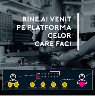 Nod makerspace Association launches Make for Romania