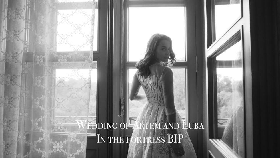 Элегантная свадьба Любы и Артема в замке БИП