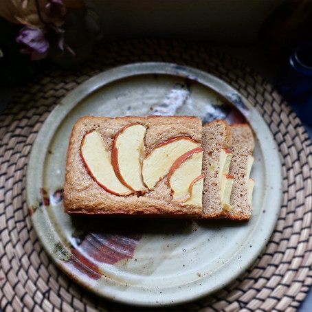 Apple Chai Spice Loaf Cake