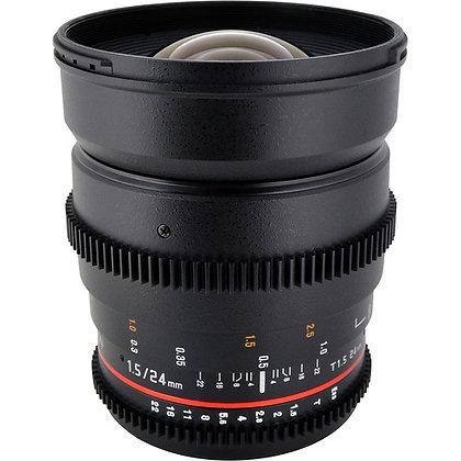 Rokinon 24mm T1.5 Cine ED AS IF UMC Lens for Sony E Mount