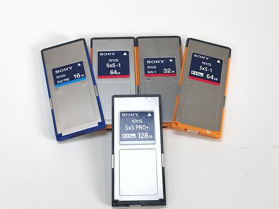 Sony SxS Cards