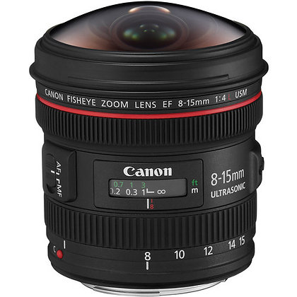 Canon EF 8-15mm f/4 Fisheye Lens