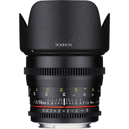 Rokinon 50mm T1.5 Sony E-Mount