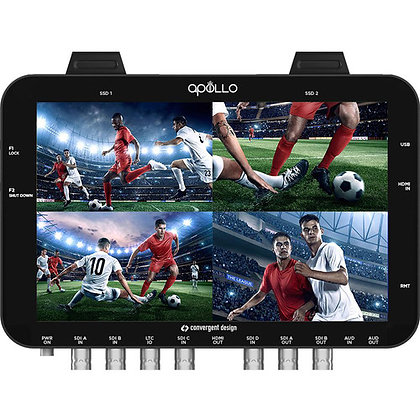 Convergent Design Apollo OLED Monitor, Recorder, & Switcher