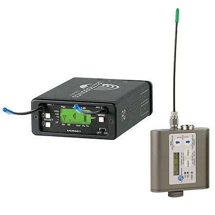 Lectrosonics UCR401/SMQV Transmitter Wireless Microphone Kit