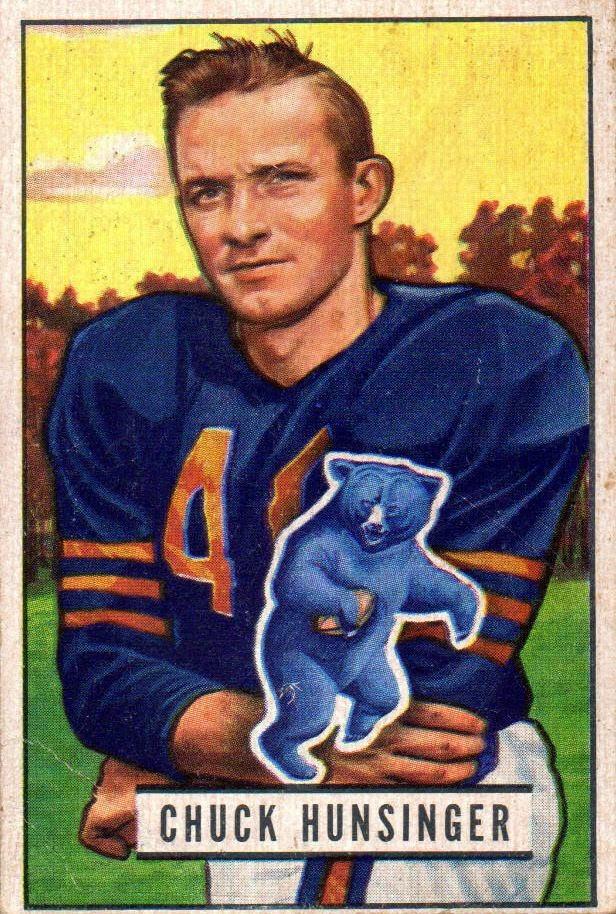 Chuck Hunsinger,  Chicago Bears