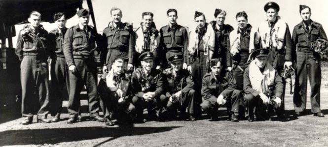 The surviving Dambuster Canadians.