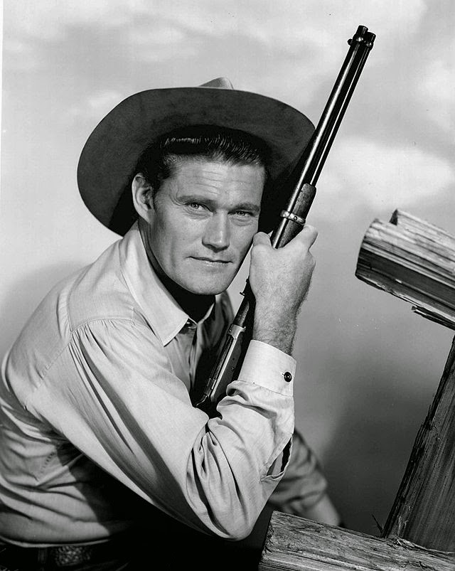 Chuck Connors as the Rifleman