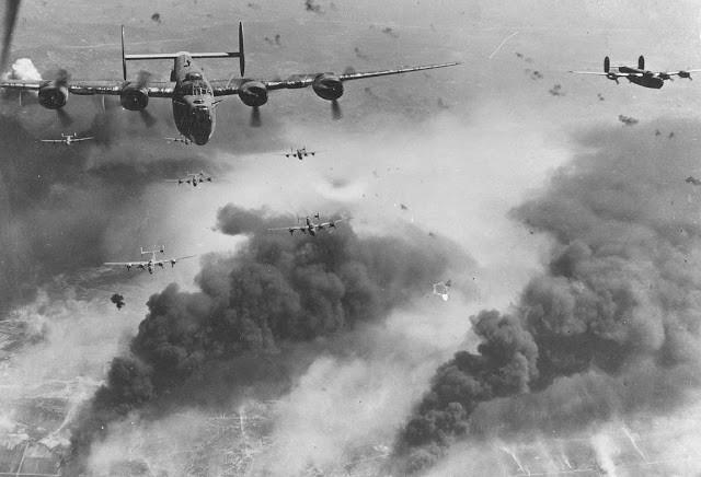 15th Air Force B-24 Liberator bombers