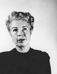 Mildred Gillars mugshot