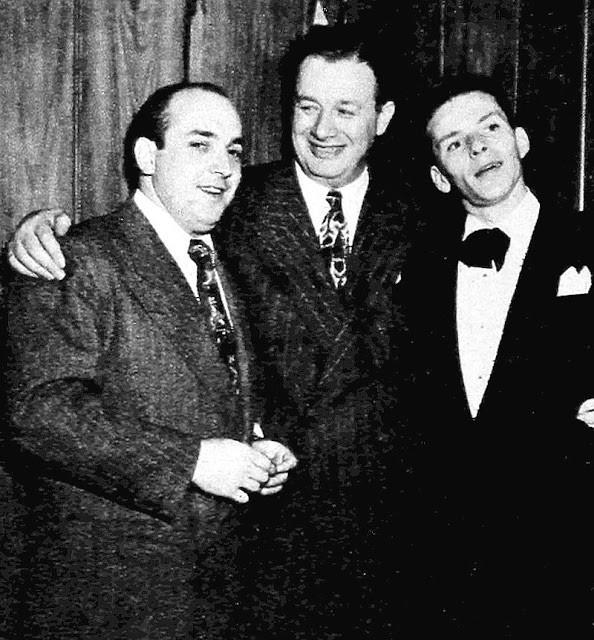 Hank Sanicola, Toots Shor & Frank Sinatra, 1947