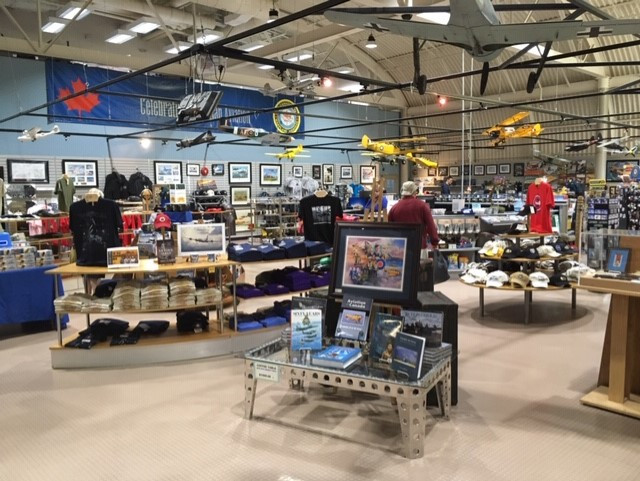 The CWHM gift shop
