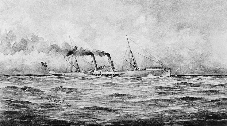 The blockade-runner Banshee (1863)