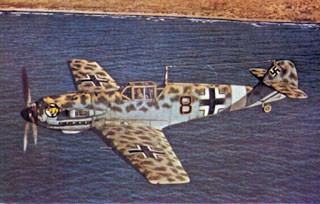 Messerschmitt BF-109 fighter