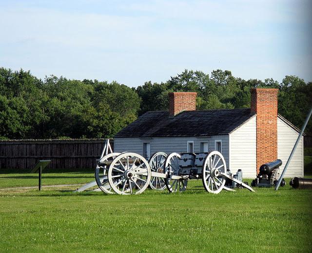 refurbished Fort George