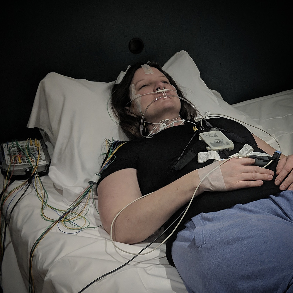 Sleep study wires