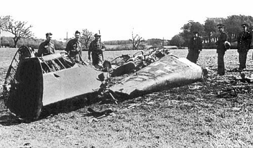 Rudolf Hess' ME-110