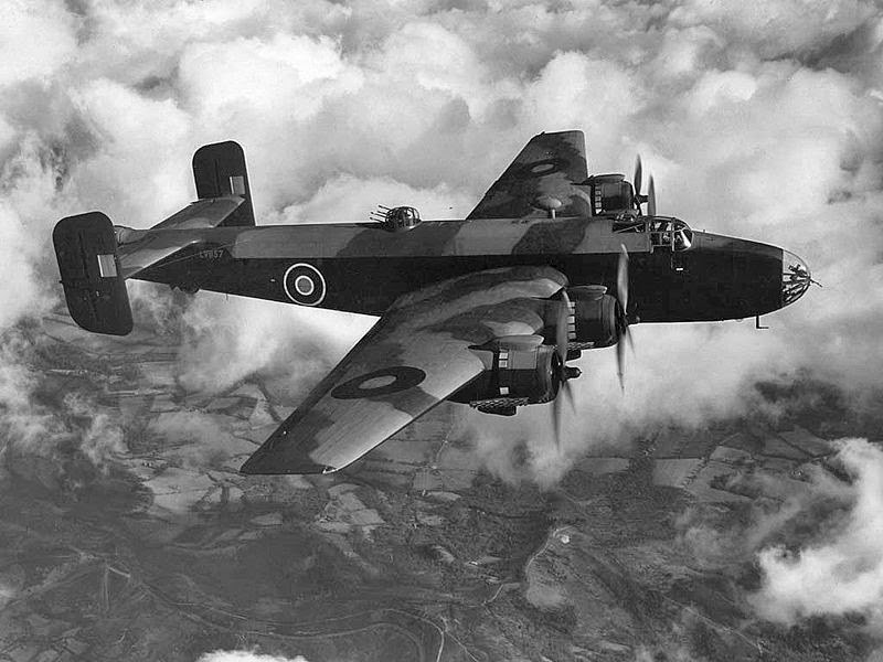 Halifax Mark III bomber