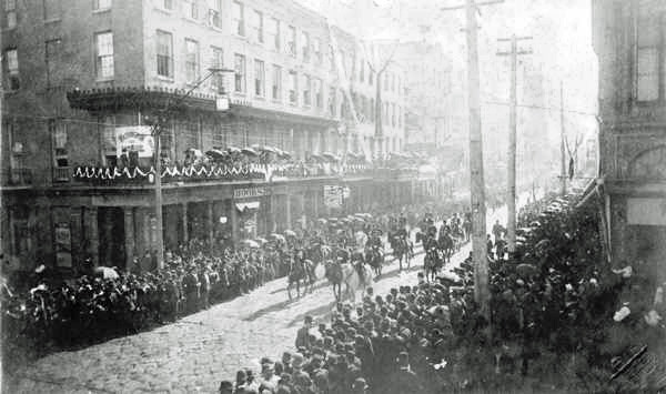 Jefferson Davis funeral, New Orleans, 1889