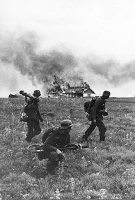 German attack of Russia, June, 1941