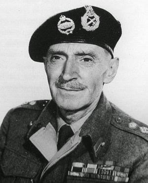 Clifton James, posing as British General Bernard Law Montgomery