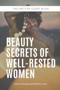 Beauty Secrets of Well-Rested Women Who Sleep