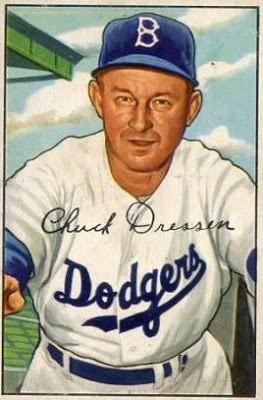 Dodger manager  Charlie Dressen