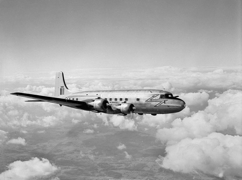 The Canadair North Star C-5