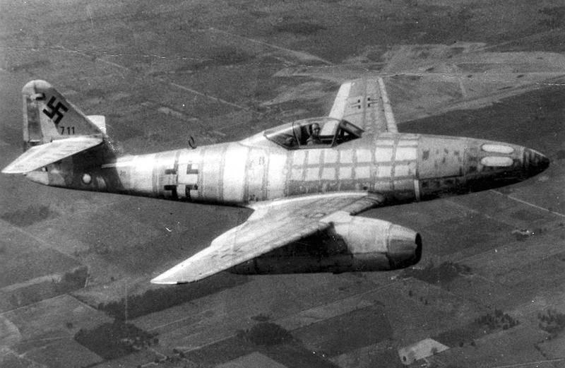 Me-262 jet
