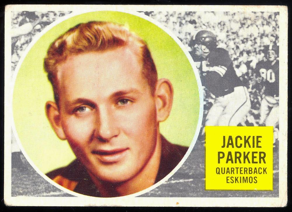 Jackie Parker as a Toronto Argonaut.