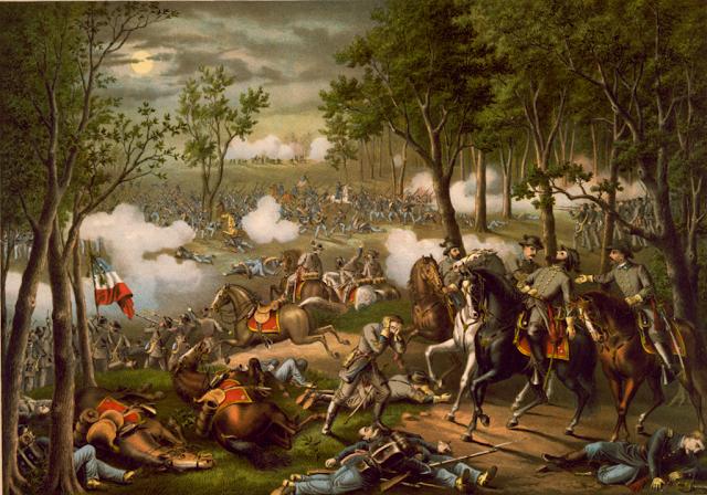 The Battle of Chancellorsville, 1863