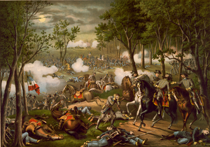 The Battle of Chancellorsville, 1863