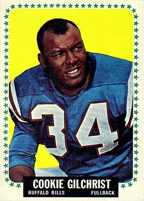 Cookie Gilchrist,  Buffalo Bills