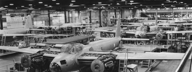 The Mosquito Canadian production plant