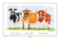Alex Underdown , Cheddar Cows Tea Towel