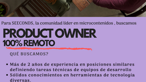 Buscamos Product Owner