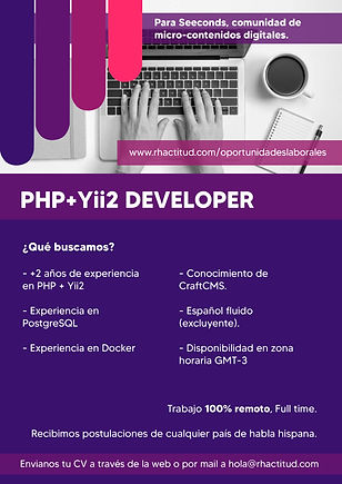 PHP + Yii2 Developer - Seeconds.jpg