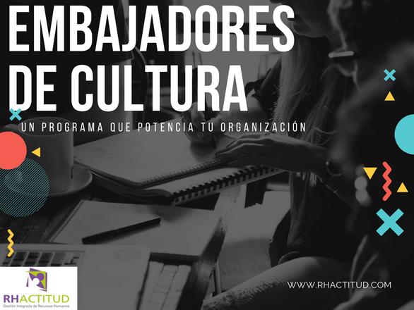 Embajadores de cultura